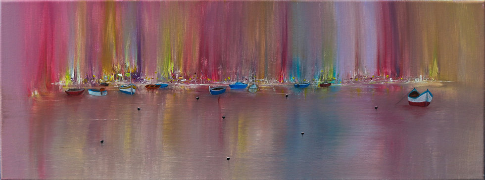 """""""Aurora Harbour"""" by Simon Kilgallon"""