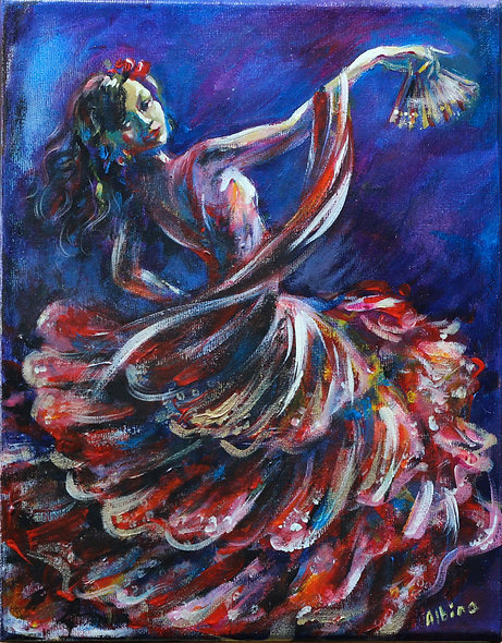 """Gypsy Dancer"" by Albina Kumirova"