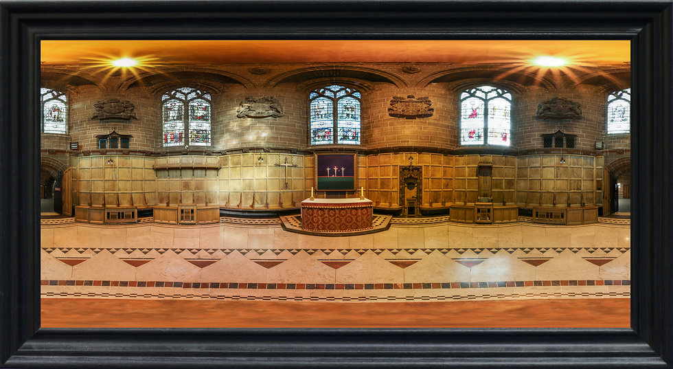 """Chapter House, Liverpool Cathedral"" by Nadia Parsons"