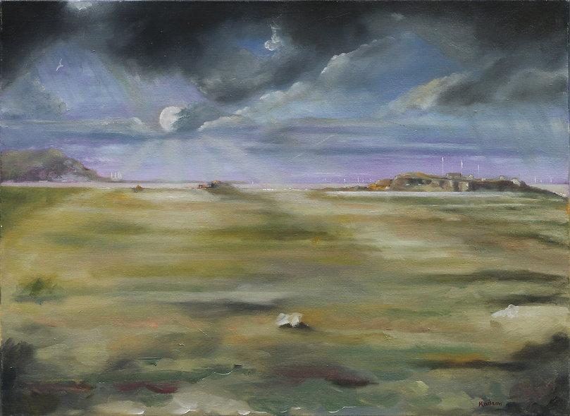 """""""Hillbre Moonlight"""" by Kevin Adams"""