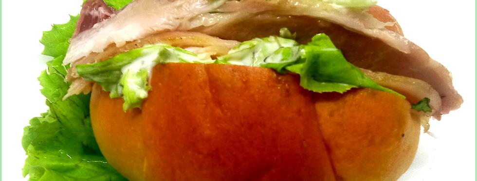Smoked chicken sandwich