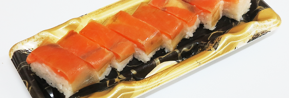 Salmon Oshizushi