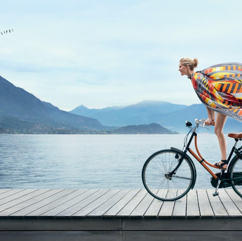 Hermes 2013 Ad Campaign – Lake Como/Italy