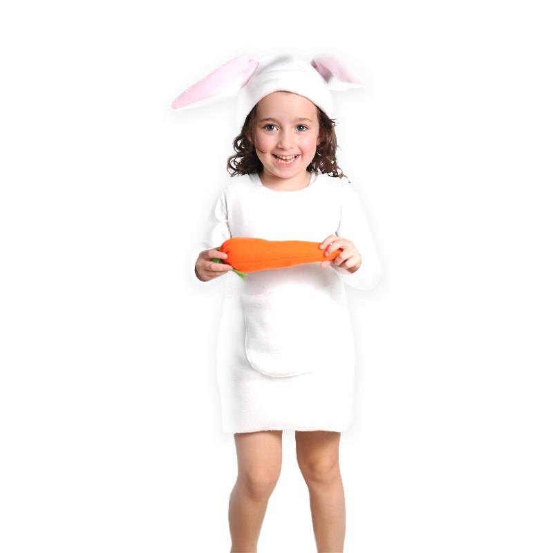 תחפושת מלאה בנות - ארנבת