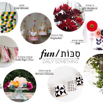 Sukkot Fun – Papers DIY's