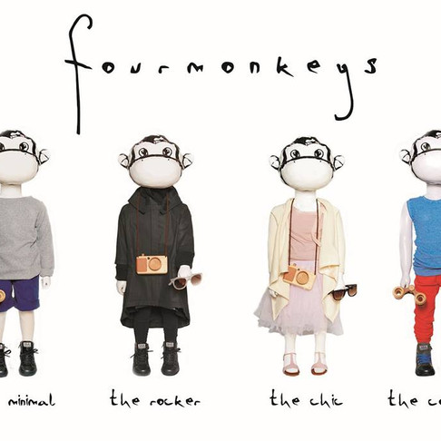 Four Monkeys – pick your Style