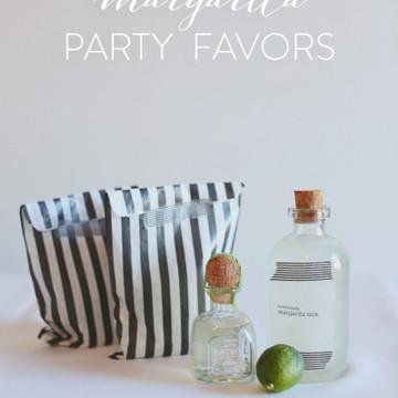 DIY: Margarita Party Favor