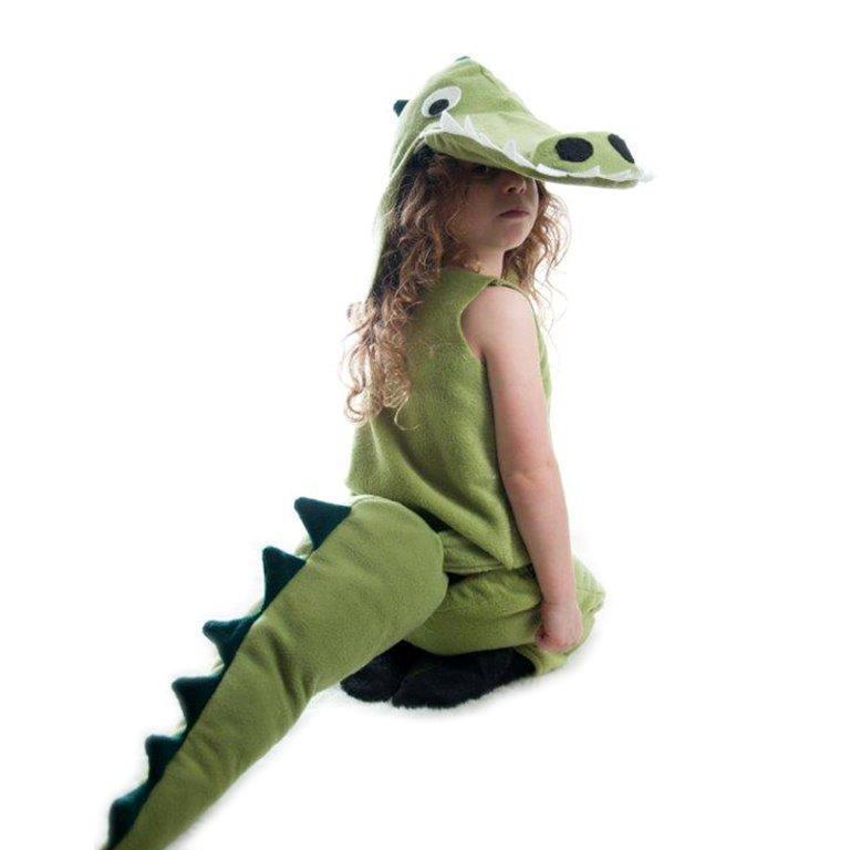תחפושת מלאה בנות - תנין - ראשית