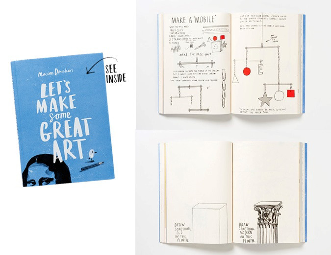lets make some great art book