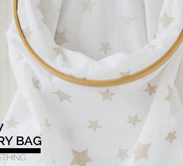 DIY : No Sew Laundry Bag