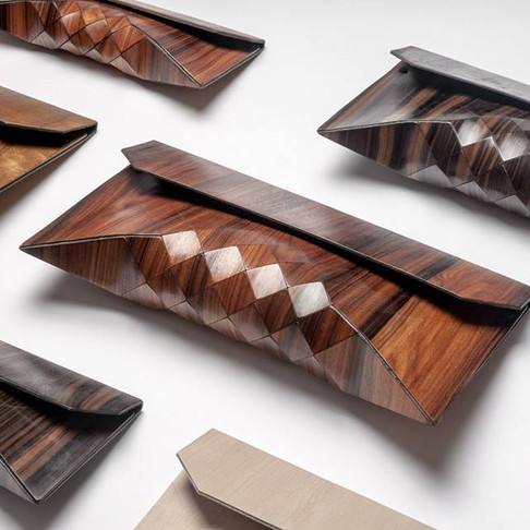 """Tesler+Mendelovitch – """"Wearable Wood"""" Collection"""