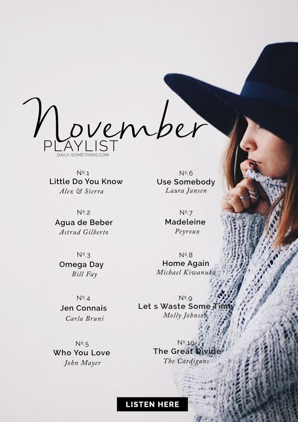 November15 Playlist