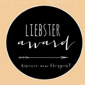 My first ever 'Liebster Award' nomination!!