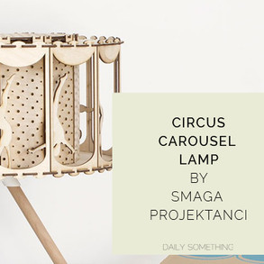 Amazing Circus Carousel Lamp by SmagaProjektanci