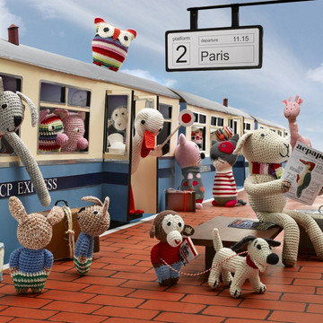 Knitted Little Freinds by Anne-Claire Petit