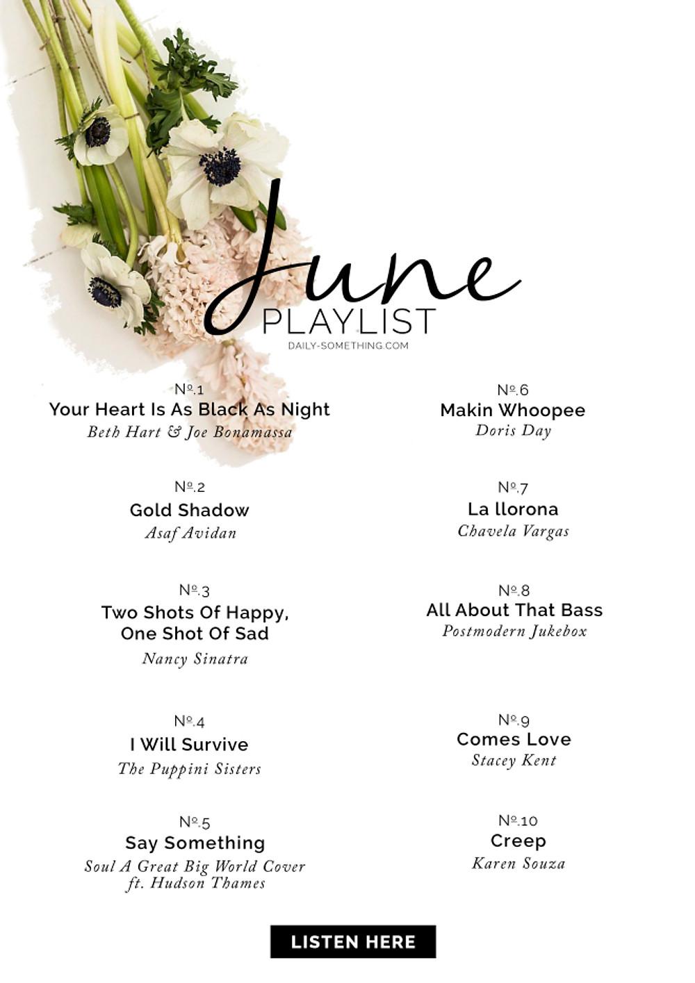 June 15 Playlist