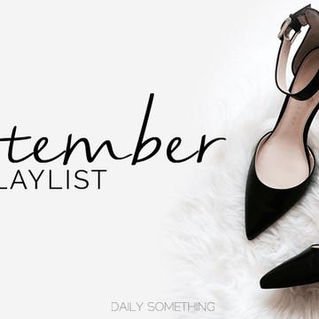 September 2015 Playlist
