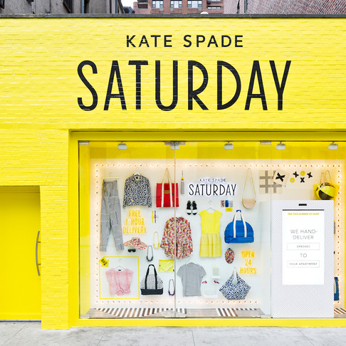 Kate Spade + eBay = Shoppable Window