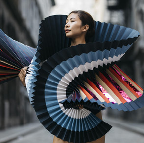 Origami Costumes For Ballet Dancers