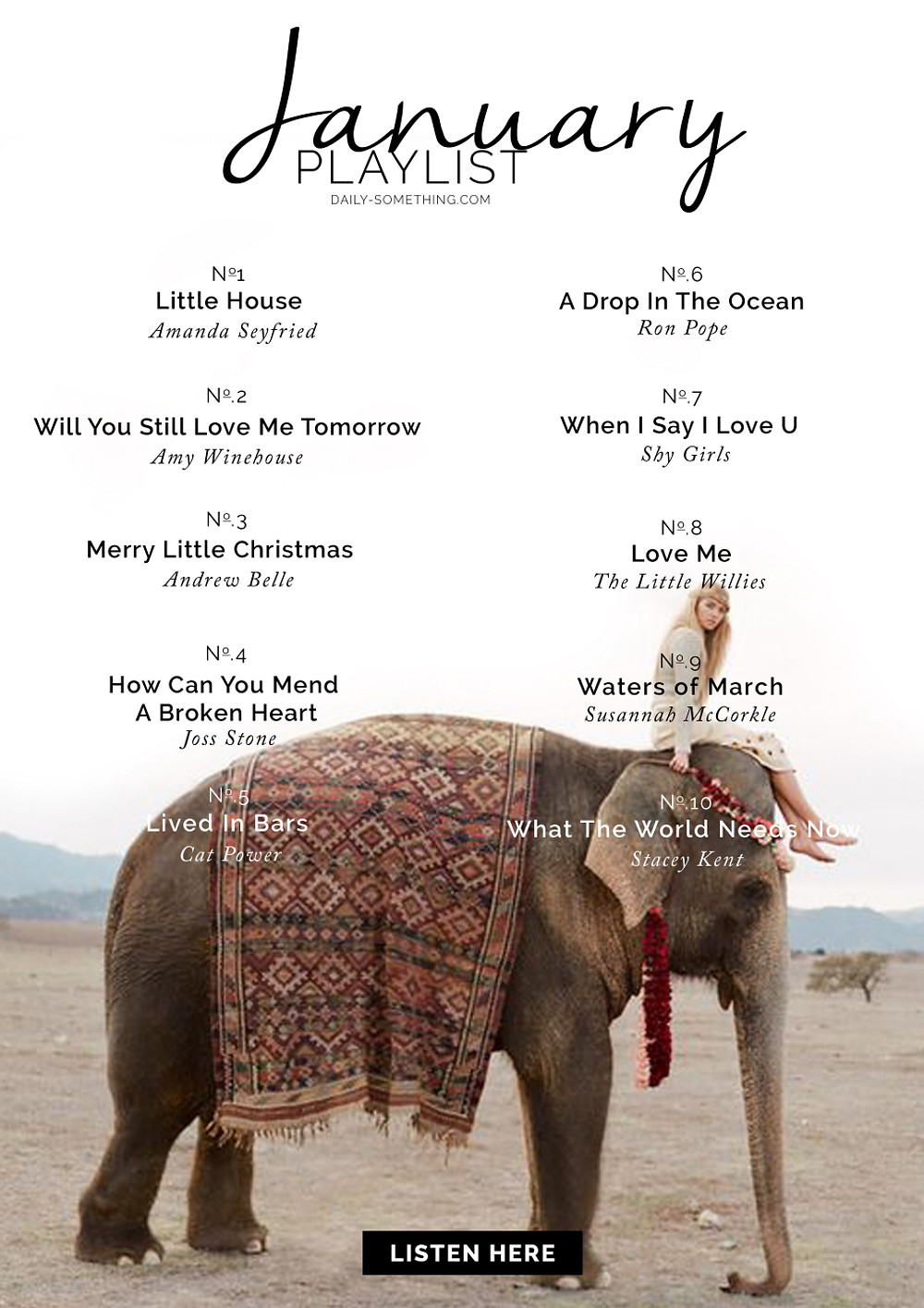 january16 playlist
