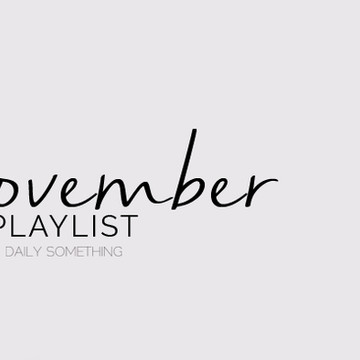 November 2015 Playlist