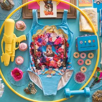 'My Body, My Shrine' Swimsuit by Project