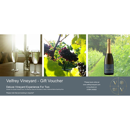Deluxe Vineyard Experience For Two - Gift Voucher