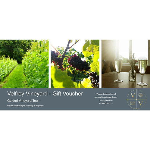 Gift Voucher - Guided Vineyard Tour
