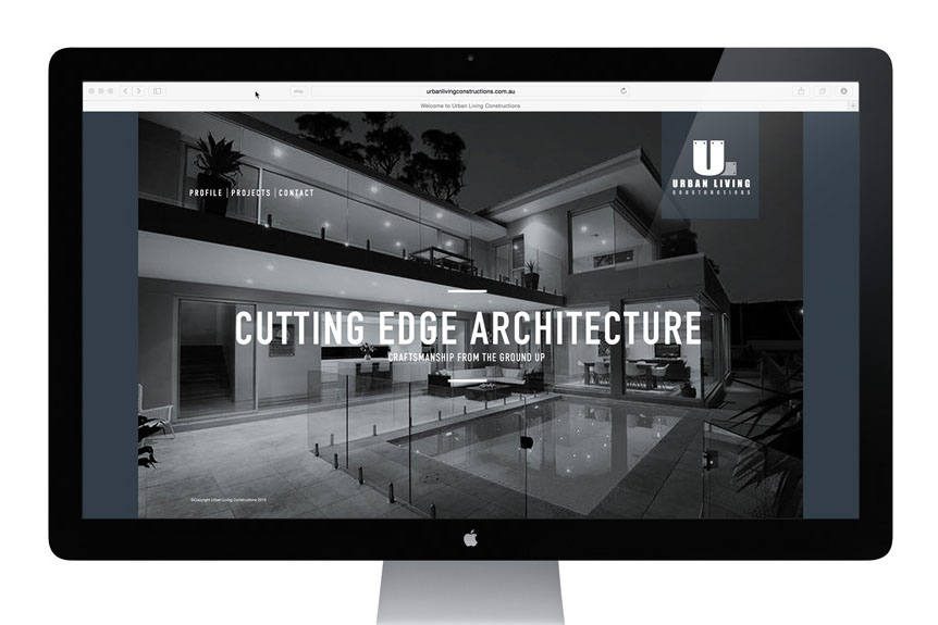 Urban Living Constructions website