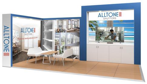 Alltone Shutters Expo Stand design
