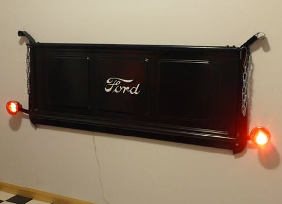 BLACK Ford Tailgate Bench