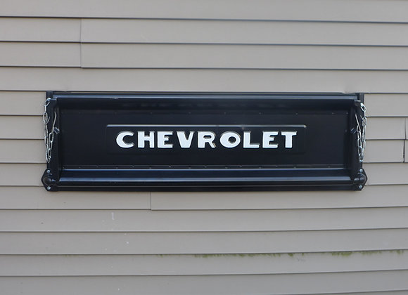 BLACK Chevrolet tailgate bench, basic