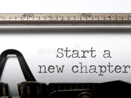 Never to Old to Start a New Chapter