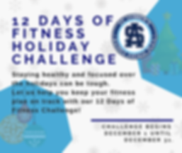 FB Post 12 days of Fitness FFP Challenge