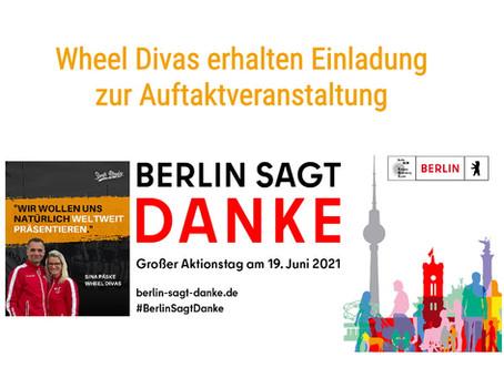 "Wheel Divas bei Auftakt ""Berlin sagt Danke"""