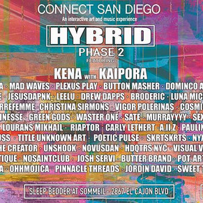 Connect San Diego presents Hybrid Phase