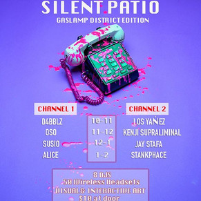 ⚠️Don't miss out next week's Silent Pati