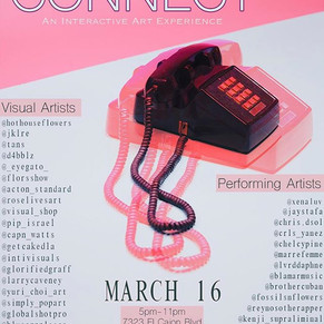 CONNECT TOMORROW!!!!!!Friday March 16!__