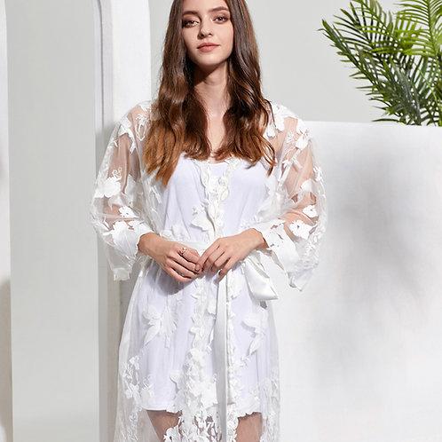 Full Lace Bridal Robe