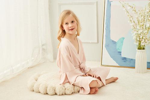 Ruffle Personalised Childrens Robe