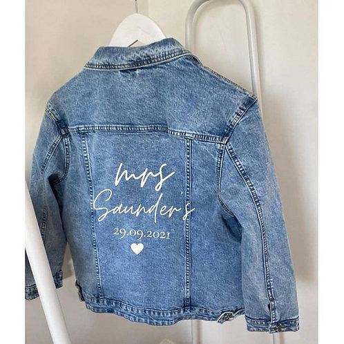 Bride Blue Denim Jacket