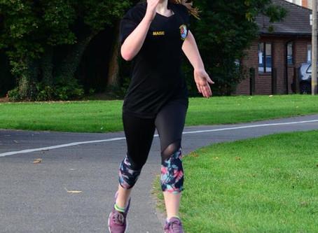 Clough's courageous Marathon finish