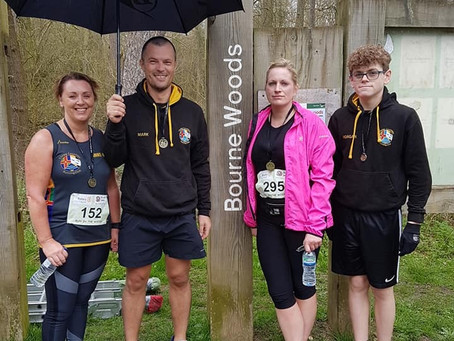 Olympic Park to Bourne Woods for TCRC