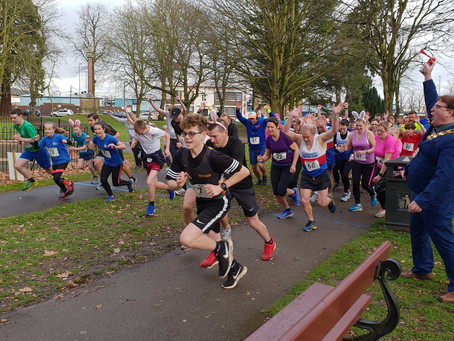 Eggcellent event by Three Counties Running Club