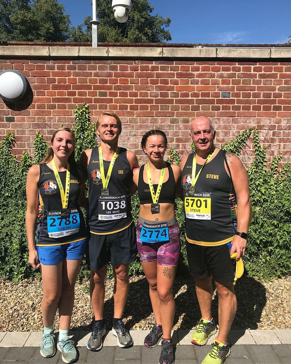TCRC at the Norwich 10K