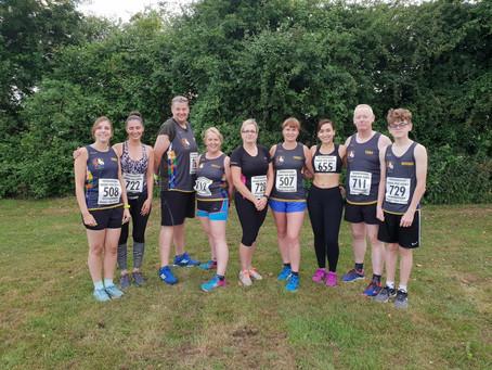 Three Counties Running Club turn up the heaT