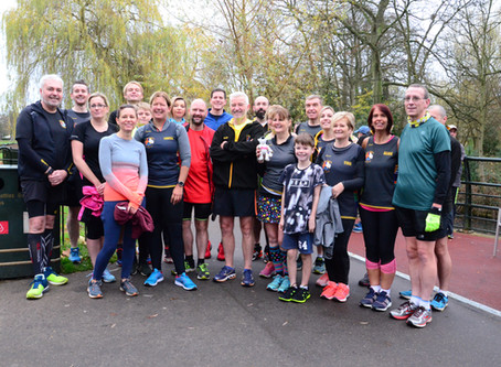TCRC in Parkrun PB sweep
