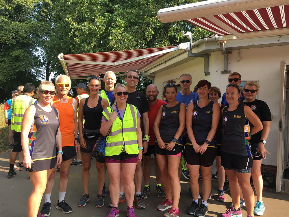 TCRC at Tracey's 50th Parkrun