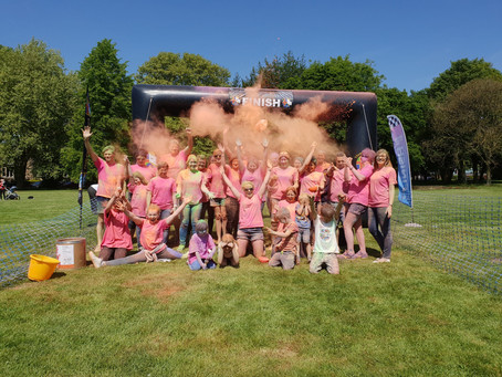 Three Counties put the COLOUR into RUN