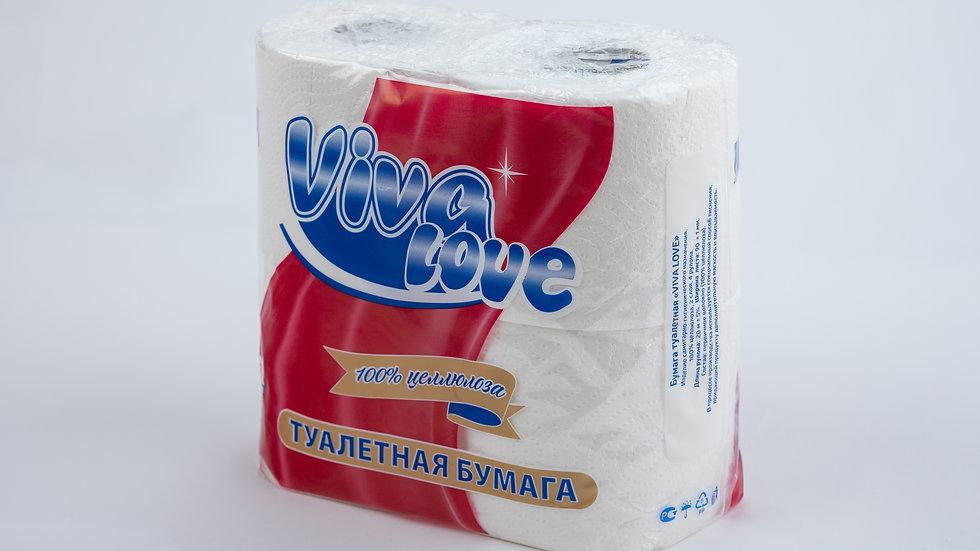 """Туалетная бумага """"Viva Love"""""""